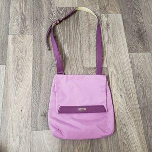 Tumi Canvas Crossbody Bag